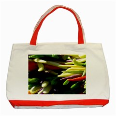 Bright Peppers Classic Tote Bag (Red)