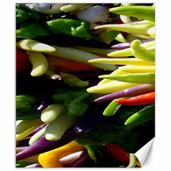 Bright Peppers Canvas 20  X 24