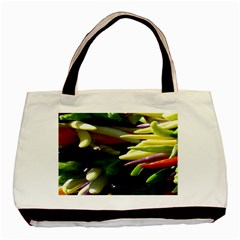 Bright Peppers Basic Tote Bag (Two Sides)