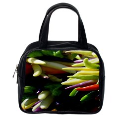 Bright Peppers Classic Handbags (One Side)