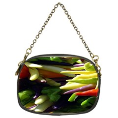 Bright Peppers Chain Purses (two Sides)