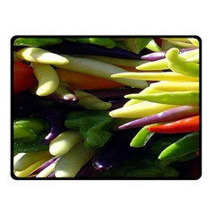 Bright Peppers Fleece Blanket (small)