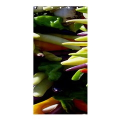 Bright Peppers Shower Curtain 36  x 72  (Stall)