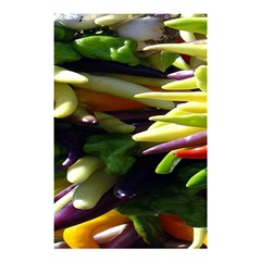 Bright Peppers Shower Curtain 48  X 72  (small)
