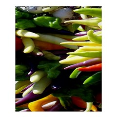 Bright Peppers Shower Curtain 60  x 72  (Medium)