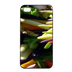Bright Peppers Apple Iphone 4/4s Seamless Case (black)