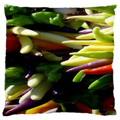 Bright Peppers Large Cushion Case (One Side)
