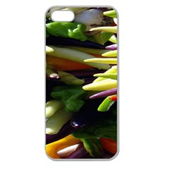 Bright Peppers Apple Seamless iPhone 5 Case (Clear)