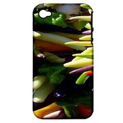 Bright Peppers Apple iPhone 4/4S Hardshell Case (PC+Silicone)
