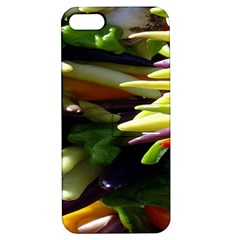 Bright Peppers Apple iPhone 5 Hardshell Case with Stand