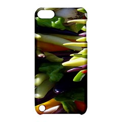 Bright Peppers Apple Ipod Touch 5 Hardshell Case With Stand