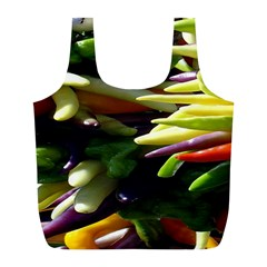 Bright Peppers Full Print Recycle Bags (l)