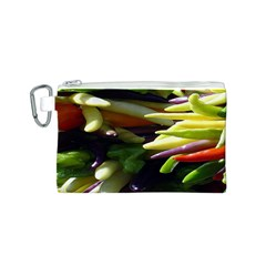 Bright Peppers Canvas Cosmetic Bag (S)
