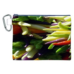 Bright Peppers Canvas Cosmetic Bag (XXL)