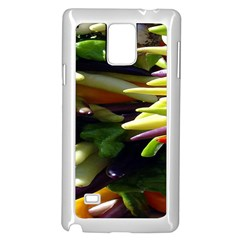 Bright Peppers Samsung Galaxy Note 4 Case (White)