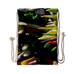 Bright Peppers Drawstring Bag (Small)