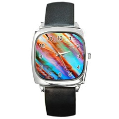 Cool Design Square Metal Watch