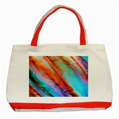 Cool Design Classic Tote Bag (red)