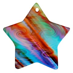 Cool Design Star Ornament (Two Sides)