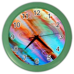 Cool Design Color Wall Clocks