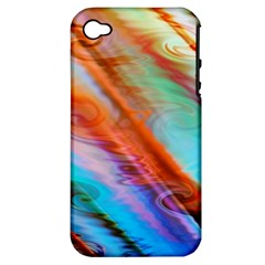 Cool Design Apple Iphone 4/4s Hardshell Case (pc+silicone)
