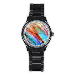 Cool Design Stainless Steel Round Watch