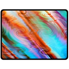 Cool Design Double Sided Fleece Blanket (large)
