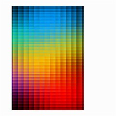 Blurred Color Pixels Small Garden Flag (two Sides)