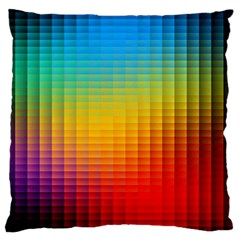 Blurred Color Pixels Large Cushion Case (Two Sides)