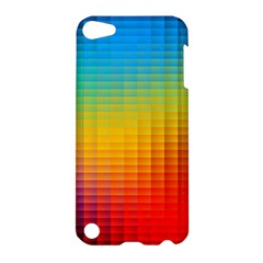 Blurred Color Pixels Apple iPod Touch 5 Hardshell Case