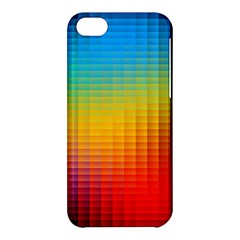 Blurred Color Pixels Apple iPhone 5C Hardshell Case