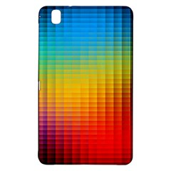 Blurred Color Pixels Samsung Galaxy Tab Pro 8 4 Hardshell Case