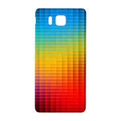 Blurred Color Pixels Samsung Galaxy Alpha Hardshell Back Case