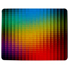 Blurred Color Pixels Jigsaw Puzzle Photo Stand (Rectangular)
