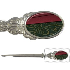 Beautiful Floral Textured Letter Openers