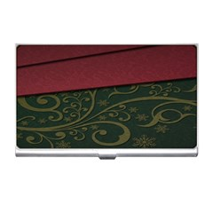 Beautiful Floral Textured Business Card Holders