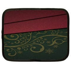 Beautiful Floral Textured Netbook Case (xxl)