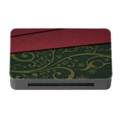 Beautiful Floral Textured Memory Card Reader With Cf