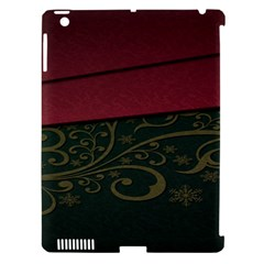 Beautiful Floral Textured Apple Ipad 3/4 Hardshell Case (compatible With Smart Cover)