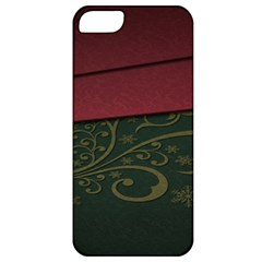 Beautiful Floral Textured Apple Iphone 5 Classic Hardshell Case