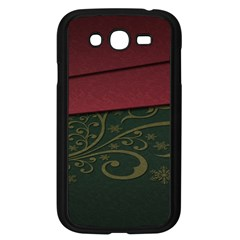 Beautiful Floral Textured Samsung Galaxy Grand Duos I9082 Case (black)