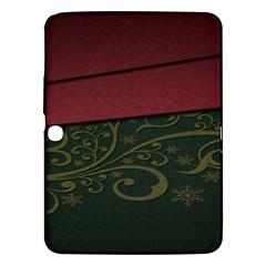 Beautiful Floral Textured Samsung Galaxy Tab 3 (10.1 ) P5200 Hardshell Case