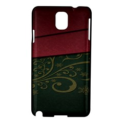 Beautiful Floral Textured Samsung Galaxy Note 3 N9005 Hardshell Case