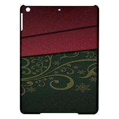 Beautiful Floral Textured Ipad Air Hardshell Cases