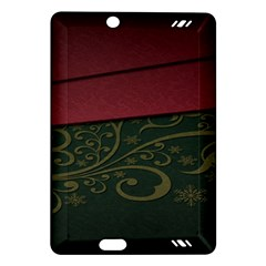 Beautiful Floral Textured Amazon Kindle Fire HD (2013) Hardshell Case