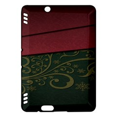 Beautiful Floral Textured Kindle Fire HDX Hardshell Case