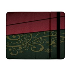 Beautiful Floral Textured Samsung Galaxy Tab Pro 8 4  Flip Case