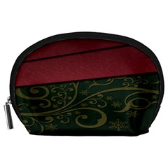 Beautiful Floral Textured Accessory Pouches (Large)