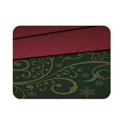 Beautiful Floral Textured Double Sided Flano Blanket (Mini)