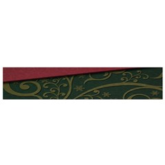 Beautiful Floral Textured Flano Scarf (small)